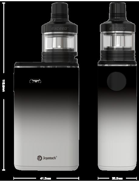 Joyetech EXCEED BOX cu Atomizor EXCEED D22C  - alb/negru
